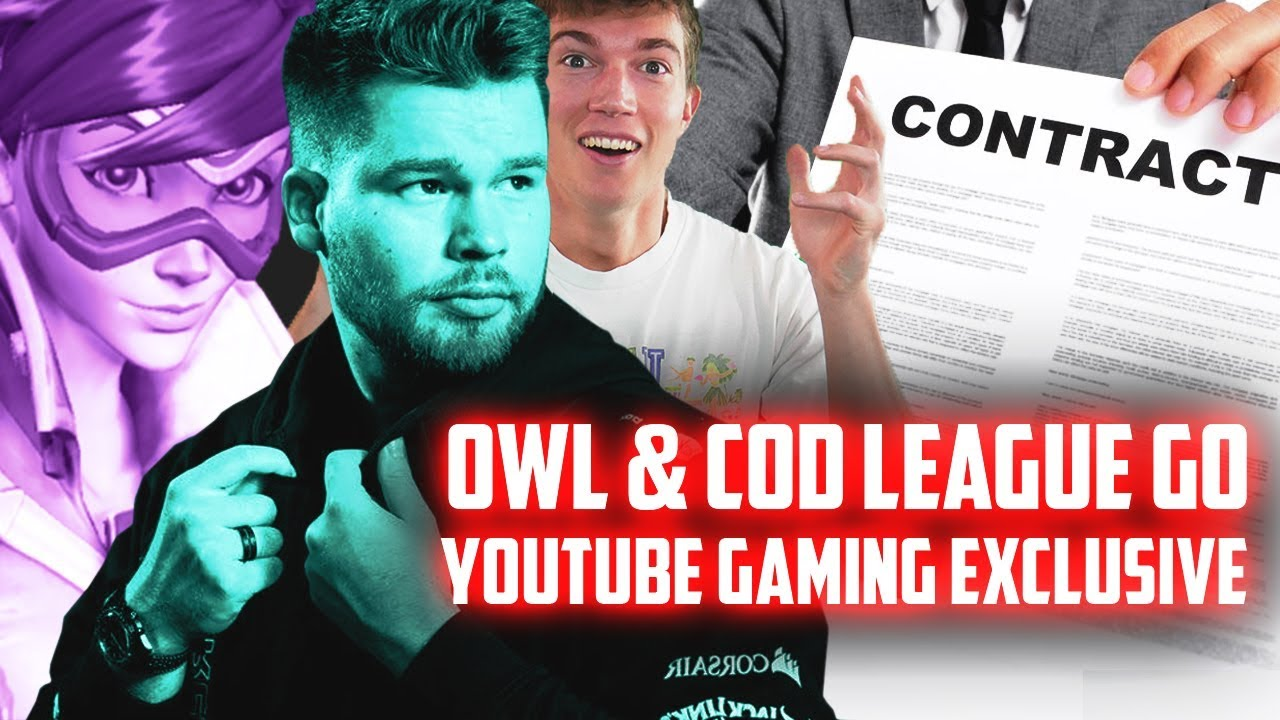 YouTube EXCLUSIVELY Sign Call of Duty League and Overwatch League