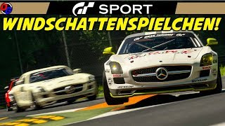 WINDSCHATTEN SPIELCHEN! | Gran Turismo Sport | MERCEDES SLS AMG @ Monza | GT Sport Gameplay German