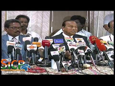 MKU college Vice-Chancellor P P Chellathurai  Press Meet at Madurai