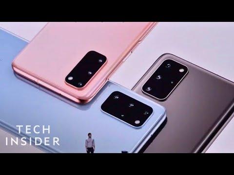Watch Samsung Unveil The Samsung Galaxy S20