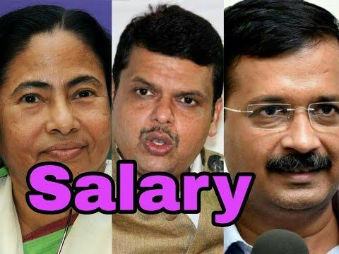 Salary Of Chief Minister's Of India | Arvind Kejriwal | Jayalalithaa | Devendra Fadnavis | Naidu