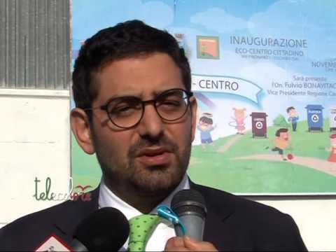 Un nuovo eco centro per Fisciano. Il comune punta al compostaggio