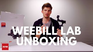 Unboxing The Zhiyun Weebill LAB Gimbal Standard Package| By Infosmercial