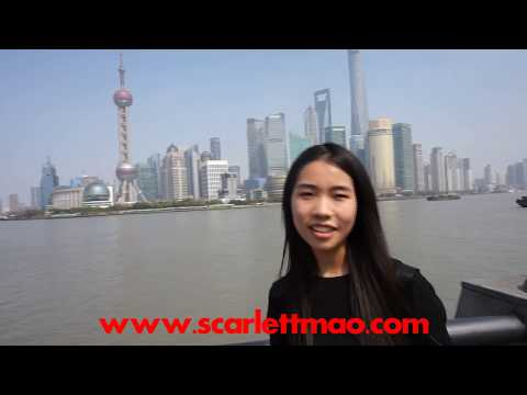 Shanghai private tour guide Scarlett
