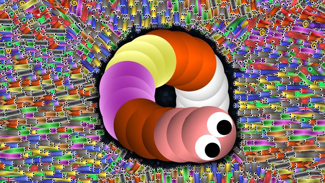 SLITHER.IO - EPIC SLITHER.IO SNAKE GAMEPLAY - NEW EPIC SKIN - WORLD RECORD