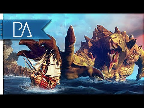 EPIC SHIP & SEA MONSTER BATTLES - Maelstrom Multiplayer Gameplay