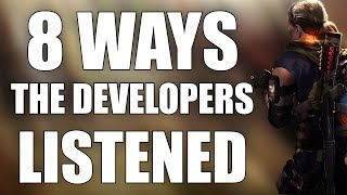 8 Ways the Developers Listened with The Division 2