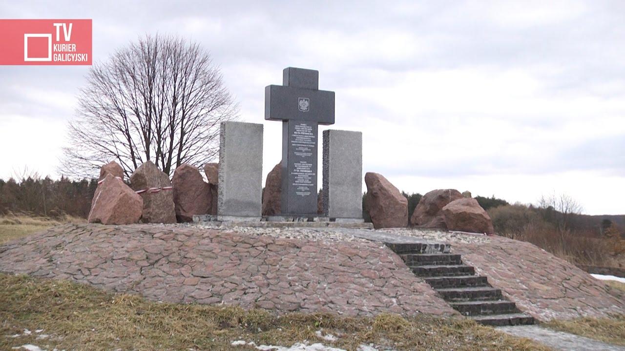 Odnowiono pomnik w Hucie Pieniackiej