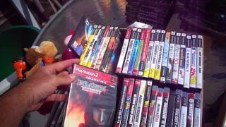 Video Games Dvds Cds +. Flea Market Garage Yard Estate Sale Finds Pick-ups - 8/9/14