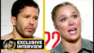 MILE 22 Exclusive Ronda Rousey & Carlo Alban Interview (2018) JoBlo