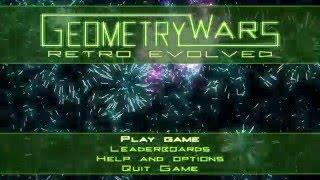 Geometry Wars: Retro Evolved Gameplay