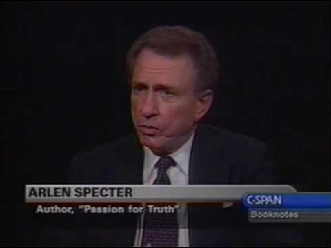 Senator Arlen Specter on Switching Parties