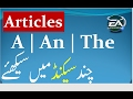 English  Articles | A  An  The | Learn in Urdu Hindi