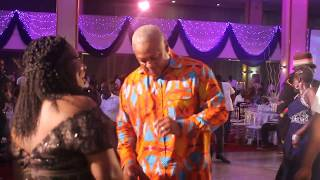 President Mahama, Ibrahim Mahama, Bola Ray, Hon. Elizabeth  Hit The Dance Floor At MUSIGA Grand Ball