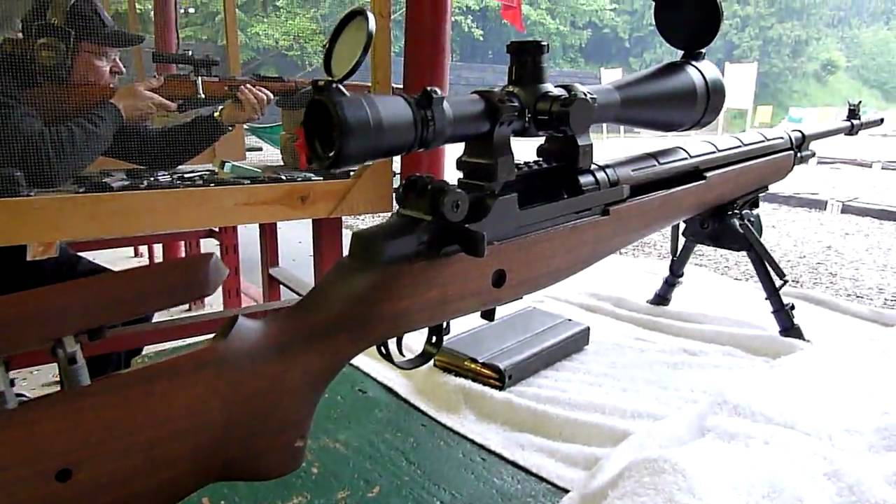 SPRINGFIELD ARMORY M21 TACTICAL RIFLE! - YouTube M14 Ebr Rifle