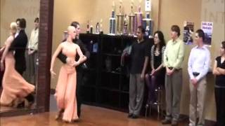 Tango Performance at DF Dance Studio in Salt Lake City Utah