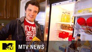 Josh Hutcherson's Crib Before 'The Hunger Games' | MTV News
