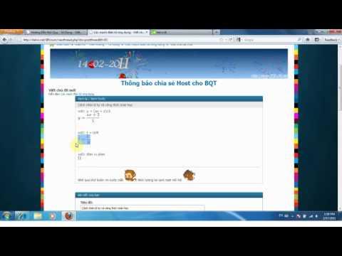 Chèn Công thức toán học và kí tự đặc biệt cho bài viết – ItelVn.net
