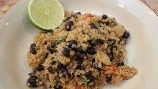 Quinoa With Black Beans: Classy Cookin' With Chef Stef