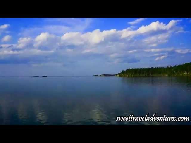 Sunset Cruise to Crean Lake - Prince Albert National Park, Saskatchewan, Canada