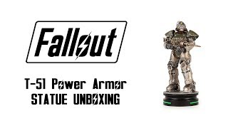 Fallout T-51 Power Armor Statue Unboxing & Review