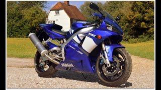 "2002 Yamaha R1 ""5JJ"" model with just 3,600 miles!!  Has to be one of the finest for sale in the UK!"