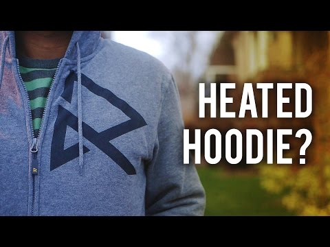 Ravean V5 Heated Hoodie - Battery Powered Clothing!
