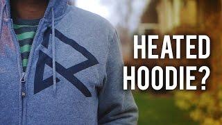 Ravean V5 Heated Hoodie - Battery Powered Clothing!