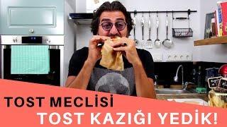 TOST KAZIĞI YEDİK (Tost Meclisinden Yemek Siparişi Verdik!)