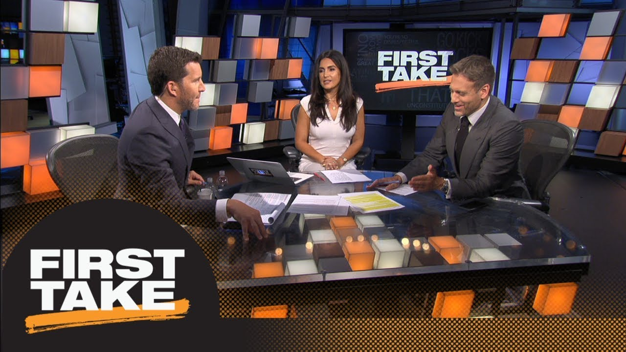 Max, Will Cain debate if Adrian Peterson will be able to start for Redskins   First Take   ESPN