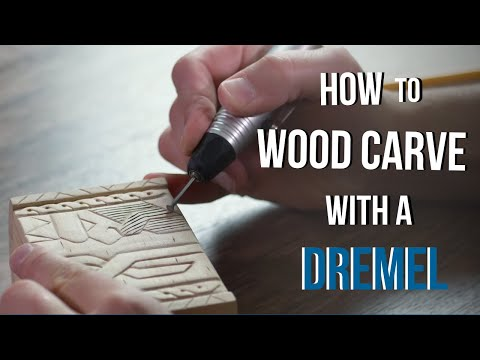 How to Wood Carve/Power Carve a Gift Box with Your Dremel