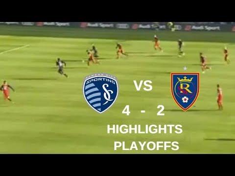Sporting Kansas City vs Real Salt Lake Highlights | MLS Cup Playoffs 11/11/2018