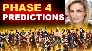 MCU Phase 4 Movies & Predictions - After Infinity War