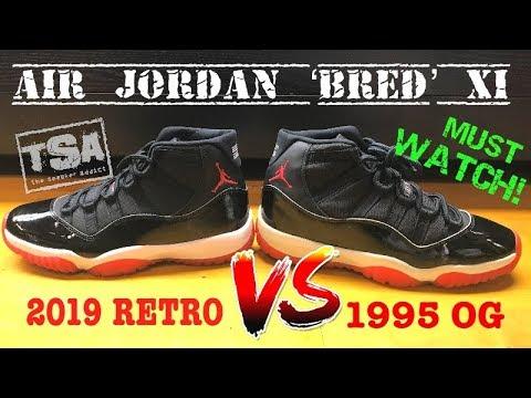 Air Jordan 11 Bred Playoff 2019 Retro