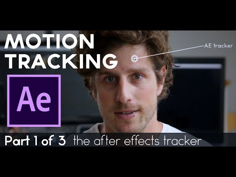 Motion Tracking Tutorial in After Effects CC 2018 (Part 1 of 3)