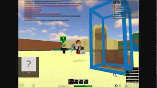 Roblox Sandbox-sitting On The Inviseable Bench