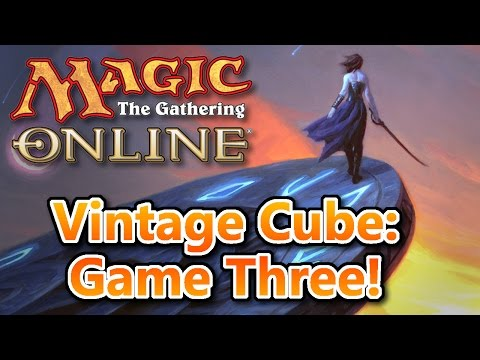 MTG - Vintage Cube Game Three! Magic: the Gathering Online!