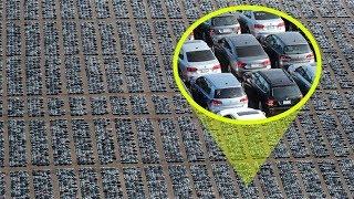 Вот куда деваются непроданные автомобили… Без слез не взглянешь!