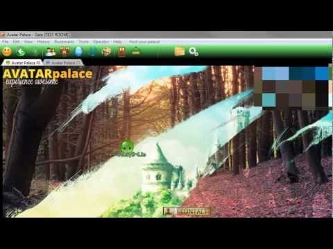 2D Virtual World Game Online - Avatar Palace