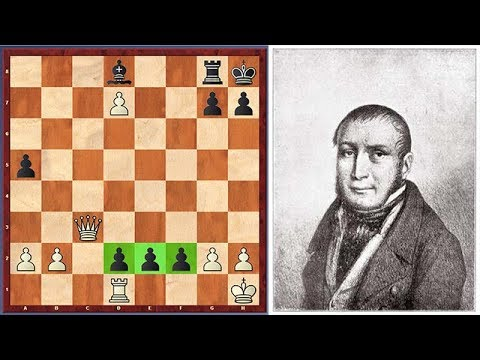 One Of The Most Famous Final Positions In Chess History