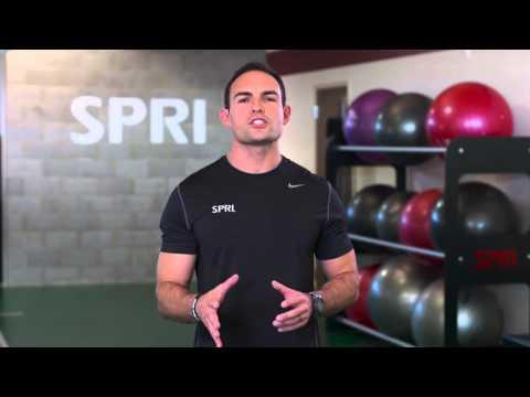 SPRI Braided Xertube: Bent Over Row Exercise