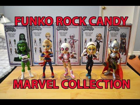 Hulk She-Hulk Rock Candy Figure NEW Funko