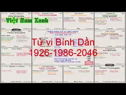 Tử vi trọn đời Ất sửu 1985 và Bính Dần 1986