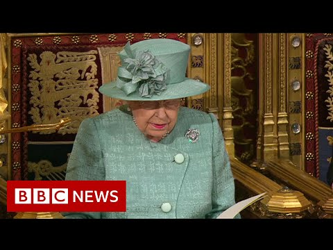 Queen's Speech: Prime Minister Boris Johnson hails 'radical' programme - BBC News