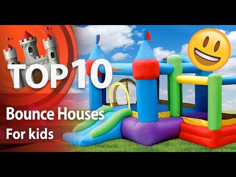 Top 10 Inflatable BOUNCE HOUSES for kids 🏰 | Top Shoppers