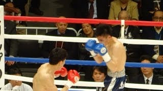 20131110 森壮輝vs馬場一浩 森2R KO勝ち 両国国技館