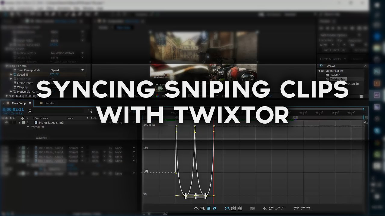 how to move clips in after effects