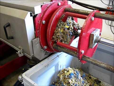 Dupps Food Waste Depackaging Installation - Mavitec Holland.wmv