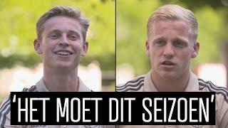 Frenkie en Donny hopen op Sturm Graz