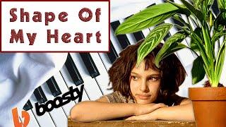 Sting - Shape of my heart на пианино. Музыка из к/ф Леон (piano tutorial). Уроки фортепиано видео